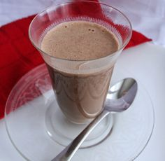 Creamy Hot Chocolate (Dairy and Refined Sugar Free)
