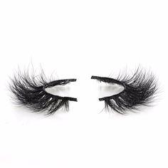 Veteran natural soft mink fur false eyelashes makeup eye lashes extension