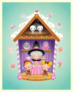My Hansel and Gretel piece for Galerie Arludik.