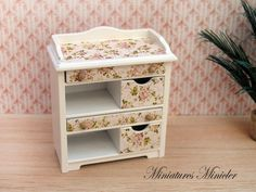 Hey, I found this really awesome Etsy listing at https://www.etsy.com/listing/276729374/miniature-dollhouse-commode-shabby-chic
