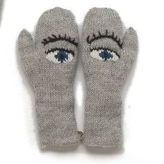 eyes mittens - oeuf nyc
