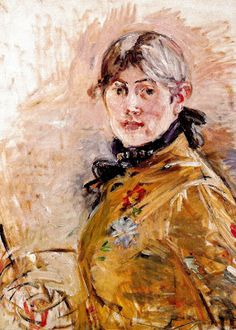 "Berthe Morisot ""Self-Portrait""  1885  Musée Marmottan Monet"