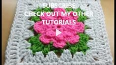 How to Crochet a Granny Square Pattern #10 │by ThePatterfamily - YouTube