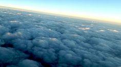 Desde las nubes... nubes.