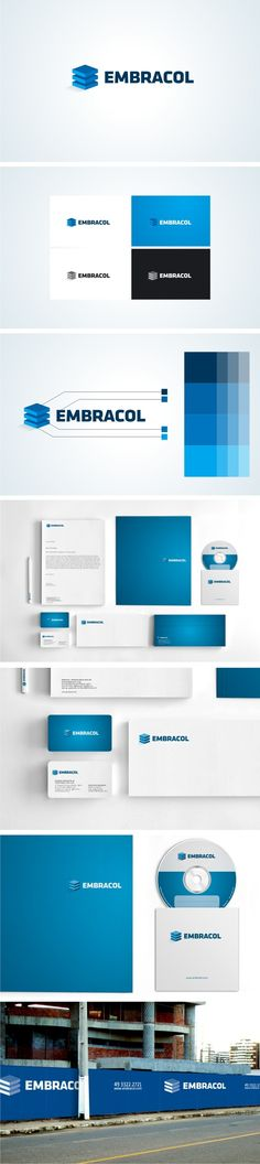 EMBRACOL - IDENTIDADE CORPORATIVA on Behance