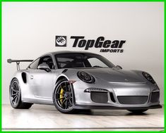 nice Great 2016 Porsche 911 GT3 RS 2016 Porsche GT3 RS  GT Silver PCCB Ceramic Brakes Sports Chrono 2017 2018 Check more at http://24carshop.com/product/great-2016-porsche-911-gt3-rs-2016-porsche-gt3-rs-gt-silver-pccb-ceramic-brakes-sports-chrono-2017-2018/