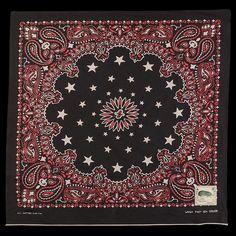 UNIONMADE - Kapital - Color Fast Bandana Cosmic Star in Black