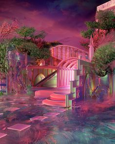 """␌ on Twitter: """"blakekathryn… """" Aesthetic Space, Neon Aesthetic, Aesthetic Backgrounds, Aesthetic Wallpapers, Conceptual Architecture, Minimalist Architecture, Futuristic Architecture, Futuristic Interior, Organic Architecture"""