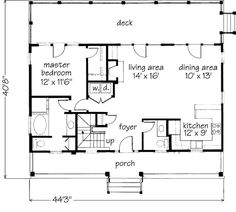 Southern Living Floor Plans - Jasmine
