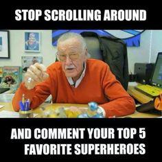 Hulk, Gambit, Wonder Woman, Amazing Spiderman and Psylocke! Go!