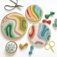 Grand Sewing Embroidery Designs At Home Ideas. Beauteous Finished Sewing Embroidery Designs At Home Ideas. Embroidery Materials, Hand Embroidery Stitches, Crewel Embroidery, Cross Stitch Embroidery, Machine Embroidery, Beginner Embroidery, Ribbon Embroidery, Hand Stitching, Stitching Patterns