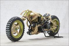 Custom ice racing bike