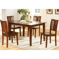 Acme Furniture Morrison 6 Piece Rectangular Counter Height Dining Table Set    ACM1023 | Dining Sets, Dining Room And Dining Tables
