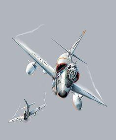 A-4 Skyhawk by Julien Lepelletier