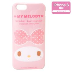 """My Melody iPhone 6 (4.7"""") Soft Cover Case Ribbon SANRIO JAPAN"""
