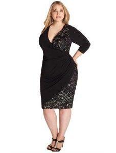 Knee length Designer plus size cocktail dresses 2014