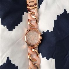 Authentic MK Runway Twist Rose Gold-Tone Watch NWT-Michael Kors Runway Twist Rose Gold-Tone Watch Michael Kors Accessories Watches