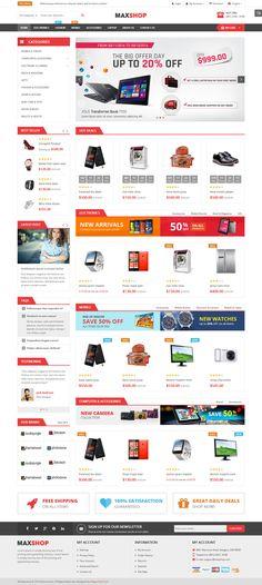 Bigmart - Premium Responsive Pages Builder Magento Theme   Pinterest ...