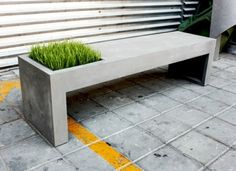 Staple of our collection, we decided to add the concrete bench in our vegetal design collection. With this new collection dedicated to vegetal design, we invite you to reconsider the p…