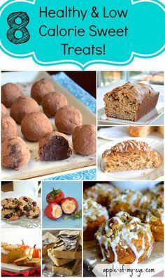 8 Healthy & Low Calorie Sweet Treats!