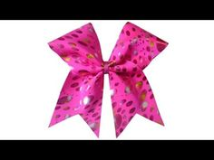 How to make a cheer bow professional standard - with Lisa Pay - YouTube
