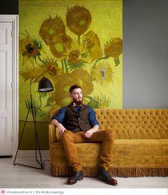 Vincent van Gogh behang van BN Wallcoverings