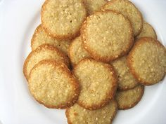 Benne Wafers. My Absolute Favorite Addiction! I can only buy them at the market in Charleston, SC...and since I don't live there, I am very excited to try this recipe !