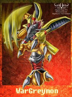 Digimon: wargreymon by *Juctoo on deviantART
