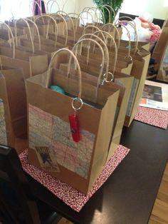 Bigfoot party favor bags