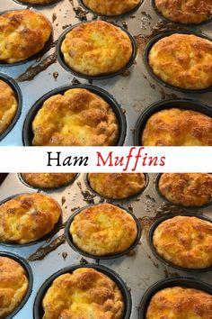 Ham Muffins #Ham #Muffins #Dessert #Desserts