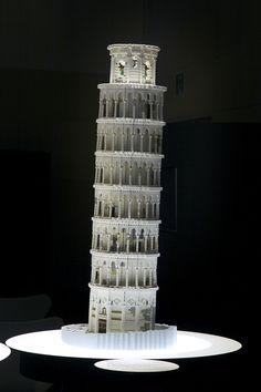 """Piazza del Duomo, Pisa""| PIECE OF PEACE - World Heritage Exhibit Built With LEGO BRICK Lego Architecture, Lego Brick, Pisa, Exhibit, Peace, World, Building, Lego Blocks, Buildings"
