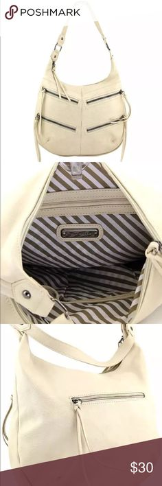 New Fringe Hobo bag by STEVE MADDEN ivory purse New with tags Bags Hobos