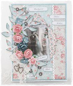 Bryllup/Wedding 3d Cards, Vintage Cards, Wedding Cards, Paper, Summer, Inspiration, Beautiful, Design, Cards
