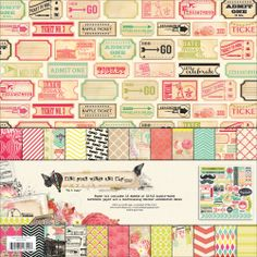 Find Your Wings & Fly Paper & Accessories Kit 12X12in-Up & Away | Overstock.com Shopping - The Best Deals on 12 x 12 Scrapbooking Kits