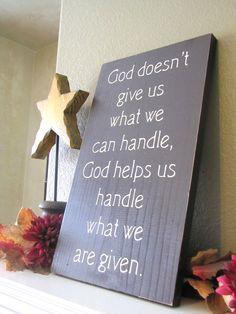 Faith in Him