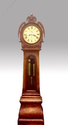 The Lovely Antique Burr Walnut Scottish Drumhead Grandfather Clock,J Griffin Glasgow has been added to your saved items. Description from sellingantiques.co.uk. I searched for this on bing.com/images