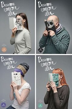 read . . . and become someone else