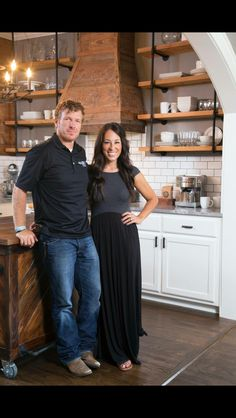 The dynamic Duo from HGTV's show Fixer Upper