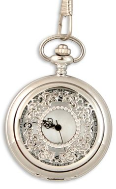 Silver Filigree Pocket Watch