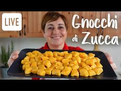 GNOCCHI DI ZUCCA FATTI IN CASA Ricetta Facile in Diretta - Fatto in Casa da Benedetta - YouTube