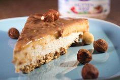 Heerlijke caramel cheesecake met hüttenkäse! - Delicious caramel cheesecake with hüttenkäse (cottage cheese)