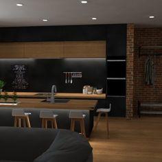3D vizualizácia  kuchyne Conference Room, Kitchen, Table, Furniture, Home Decor, Cooking, Decoration Home, Room Decor, Kitchens