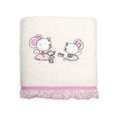 Dievčenské bavlnené uteráky krémovo ružovej farby Snoopy, Fictional Characters, Fantasy Characters