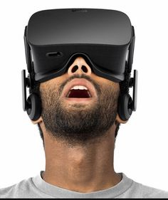 An awesome Virtual Reality pic! That's the signature expression seen on the face of anyone who tries out the #oculusrift! Come experience the astonishing world of #virtualreality at #TAVES2015 from Oct30-Nov1. Tickets available at taveshow.com  #technews #techie #gamers by taveshow check us out: http://bit.ly/1KyLetq