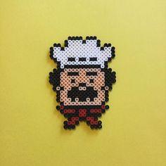 Chef perler beads by 8bit_spirit