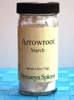 Arrowroot (Recipe: arrowroot cookies) - The Perfect Pantry®