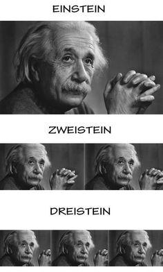 Einstein, Zweistein, Dreistein - Deutsch