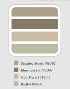 Wall Color - Behr Paint from Home Depot in Gobi Desert - Have this ...