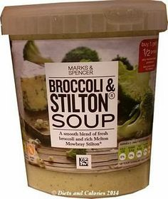 Marks & Spencer Broccoli & Stilton Soup
