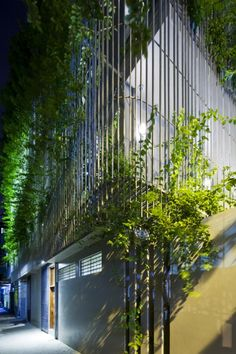 Green Renovation Hanoi with Green Facade, Vietnam by Vo Trong Nghia Architects